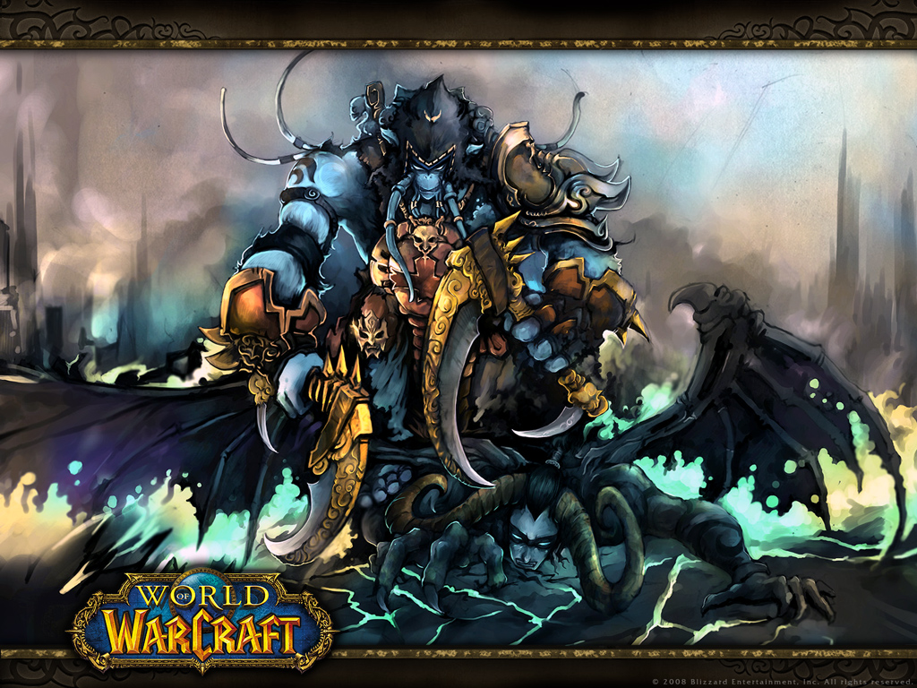 World Of Warcraft and Trailer (Wrath Of Lich King)